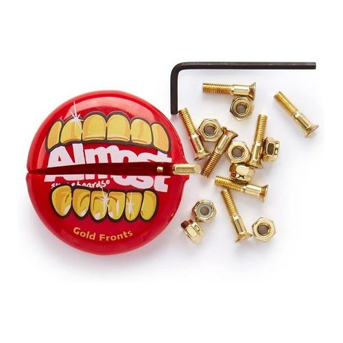 Almost Bolts & Nuts - Gold  1""