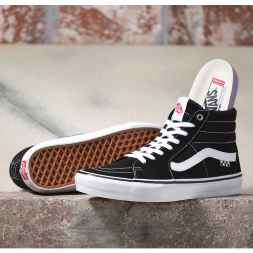 Vans® Skate Sk8-Hi - Black/White