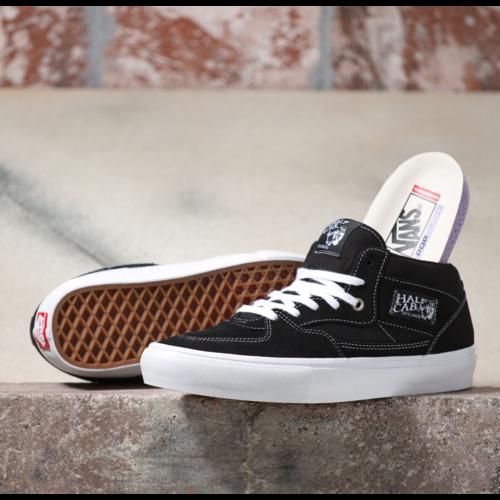 Vans® Skate Half Cab - Black/White