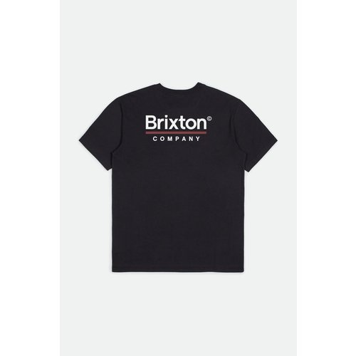Brixton Palmer Line - Worn Washed Black