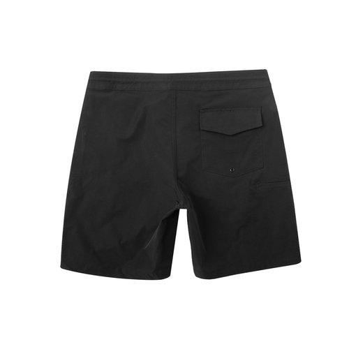 "Dark Seas Tack Boardshort 18"" - Black"