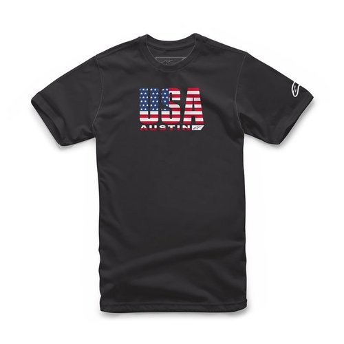Alpinestars Circuits Tee  - Black/Usa
