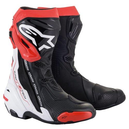 Alpinestars Supertech R - Black/White/Red
