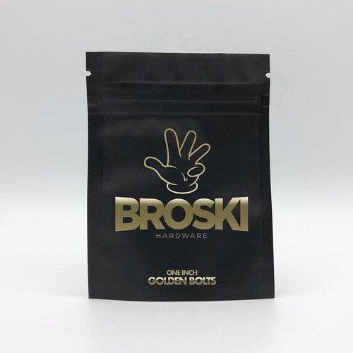 "Broski 1"" Golden Hardware"