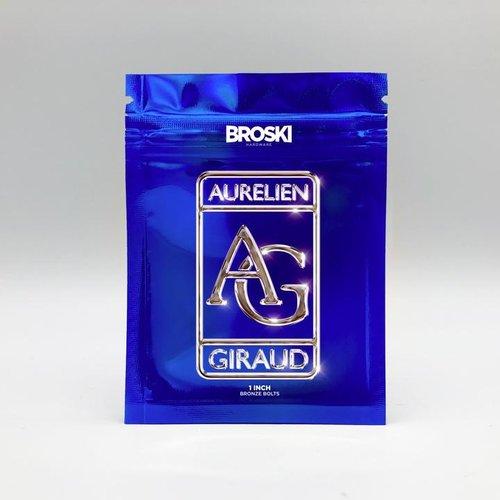 "Broski Aurelien Giraud 1"" Bronze Hardware"