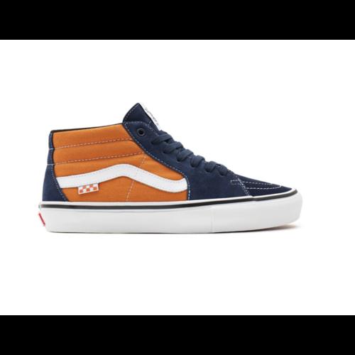 Vans® Skate Grosso Mid - Navy/Orange