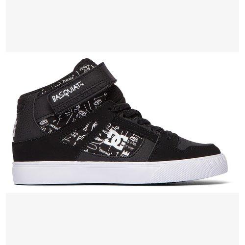 DC® Basq Youth Pure-High - Black/Print