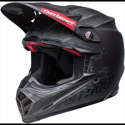 Bell® Moto-9S Flex Helmet - Fasthouse Mojave Matte Black/Gray