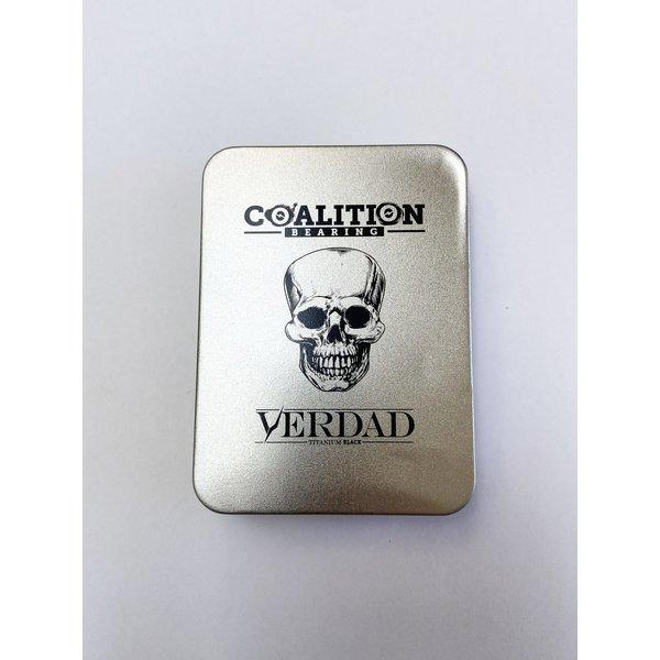 Verdad Coalition Bearings - Swiss Black Titanium