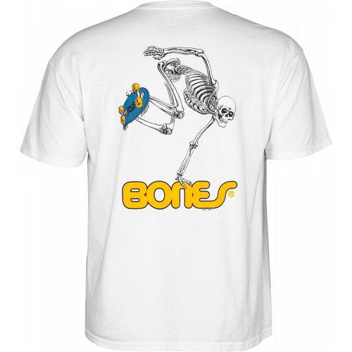 Powell Peralta Skateboard Skeleton - White