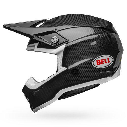 Bell® Moto-10 Spherical - Gloss Black/White