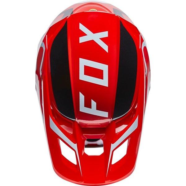 Fox V2 Merz Helmet - Flo Red