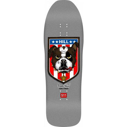 Powell Peralta Frankie Hill Bull Dog 10x31.5 - Silver