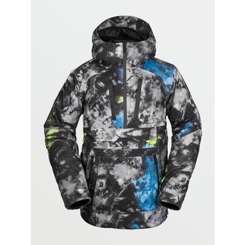 Volcom Brighton Pullover Jacket - Tie Dye