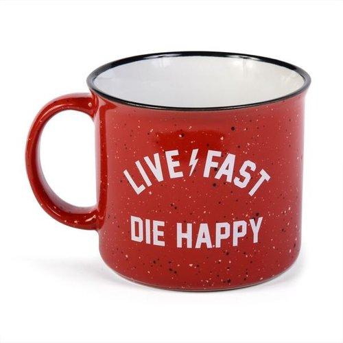 Fasthouse® Die Happy Mug - Red