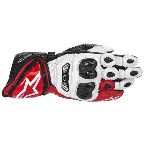 Alpinestars Gp-Tech Gloves Red/White/Black