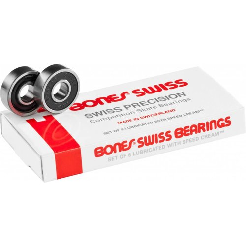 Bones® Bearings Swiss (8 pack)
