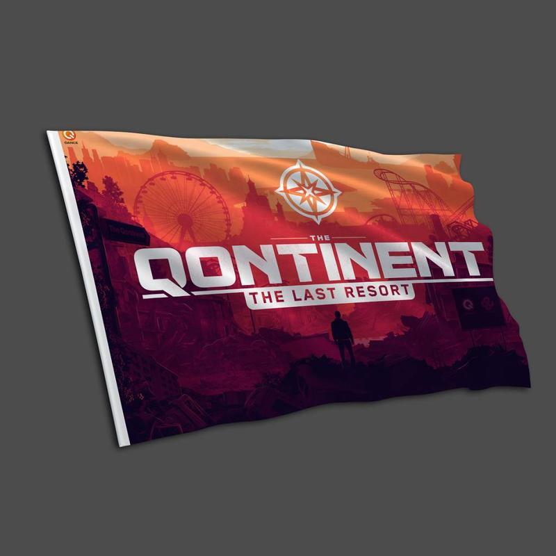 The Qontinent - The Last Resort Flag