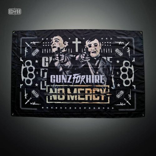 Gunz For Hire - No Mercy Icon Flag | SOLD OUT