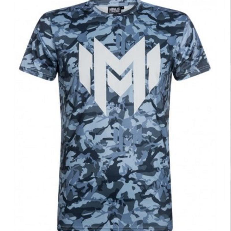 Minus Militia - Camo T-shirt