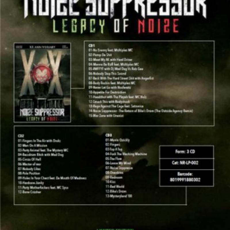 Noize Suppressor - Legacy Of Noize