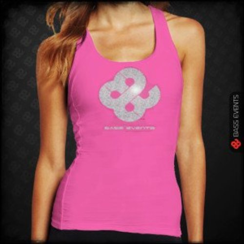 Bass Events - Pink Glitter Tanktop