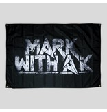 Mark With A K - Distorted Logo Flag