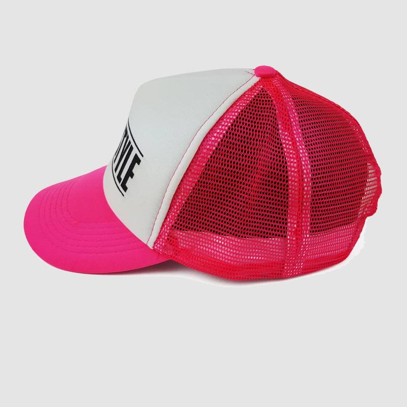 Hardstyle - Pink&White Festival Cap