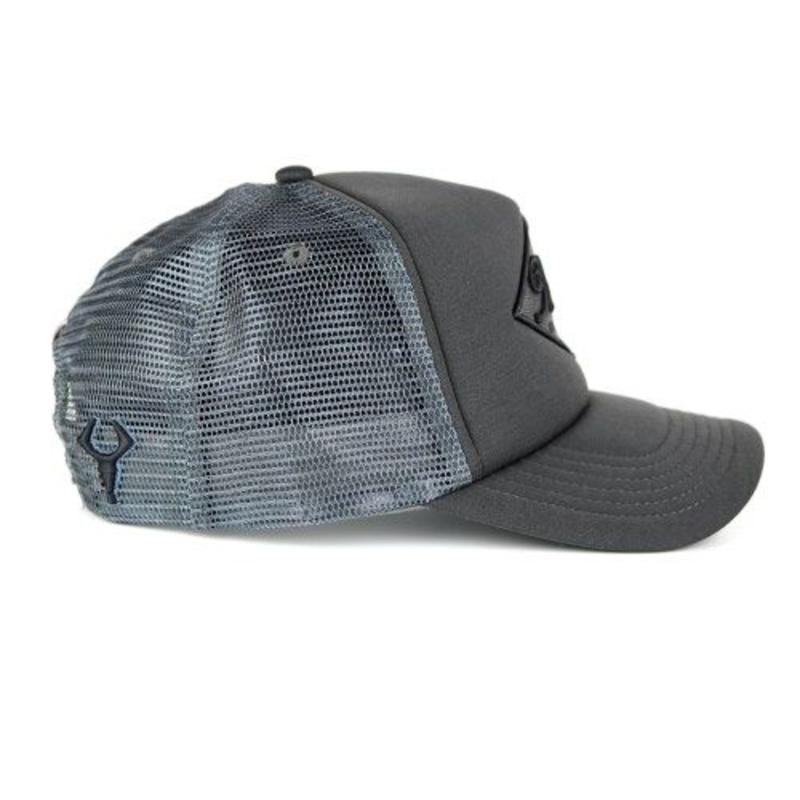 Hardr - Black Trucker Cap
