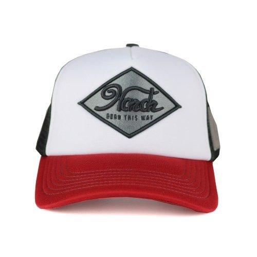 Hardr - White Trucker Cap