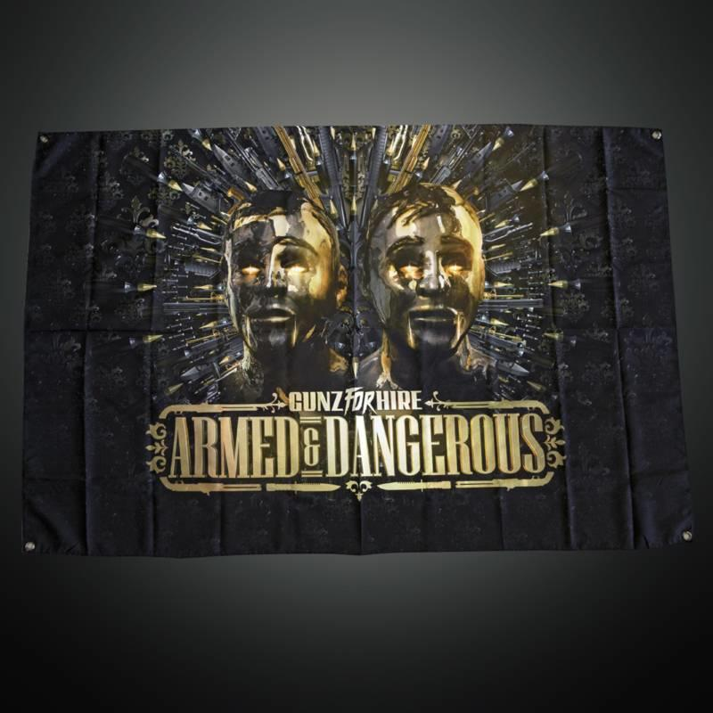 Gunz For Hire - Armed & Dangerous  Flag