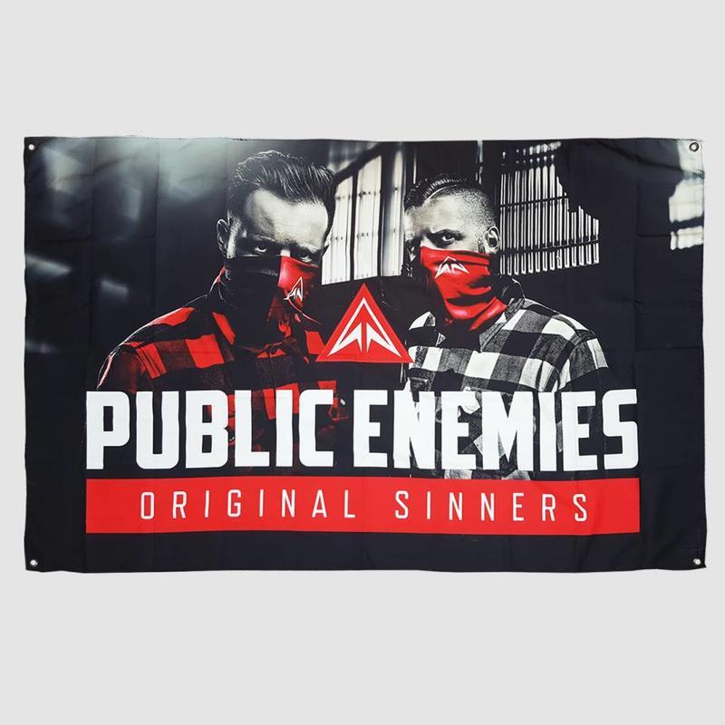 Public Enemies - Original Sinners Flag
