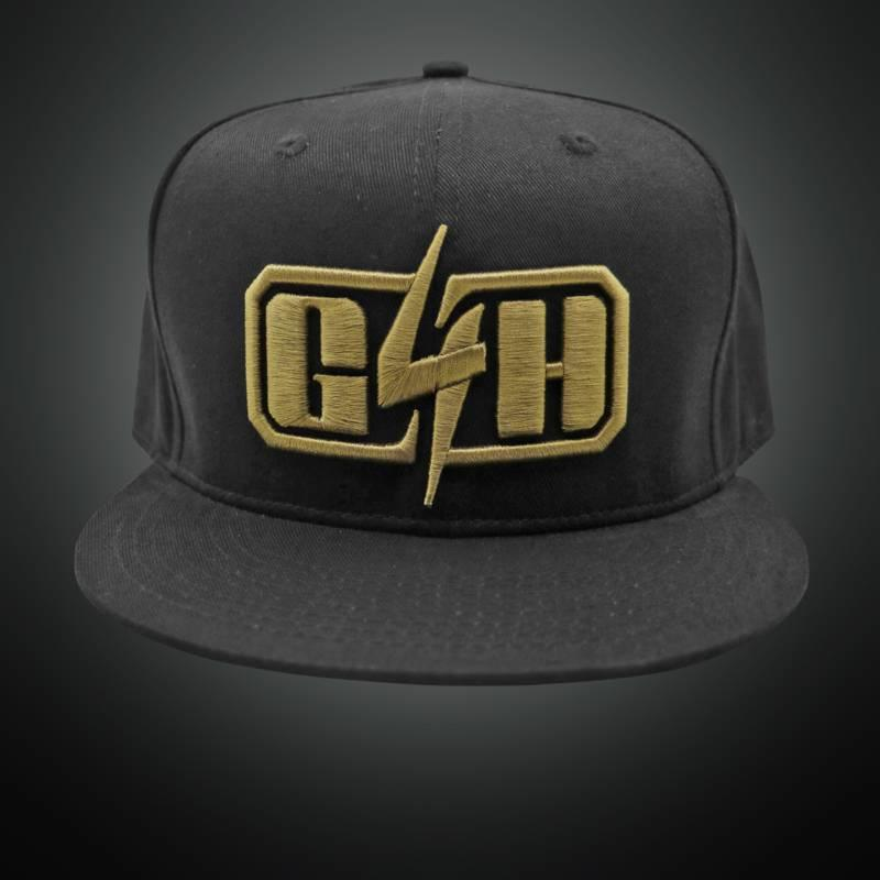 Gunz For Hire - Golden Logo  Snapback