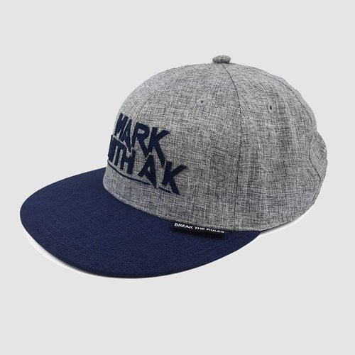 Mark With A K - Break The Rules  Chambray Snapback
