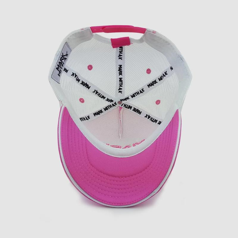 Mark With A K - Break The Rules  Pink Trucker Cap