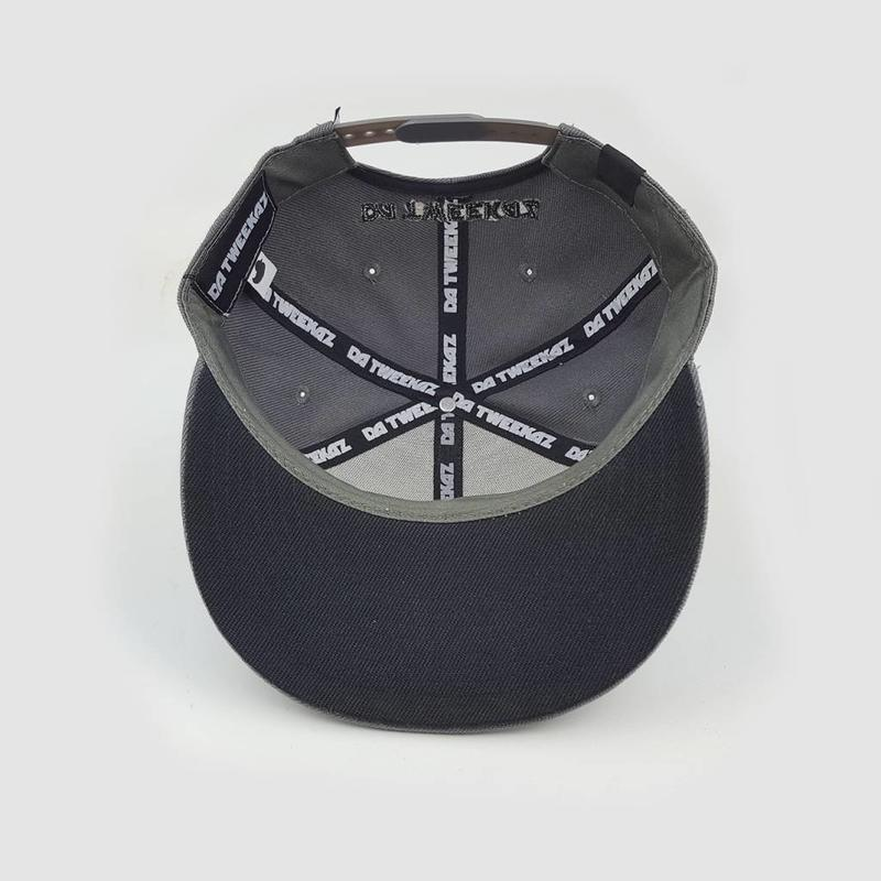 Da Tweekaz - Grey Wordlogo  Snapback