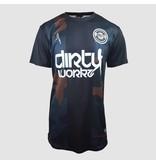 Dirty Workz - Soccer Shirt Black/ Army Green