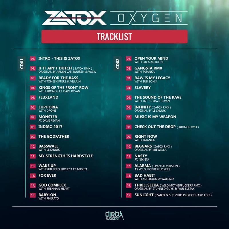 Zatox - Oxygen  Album