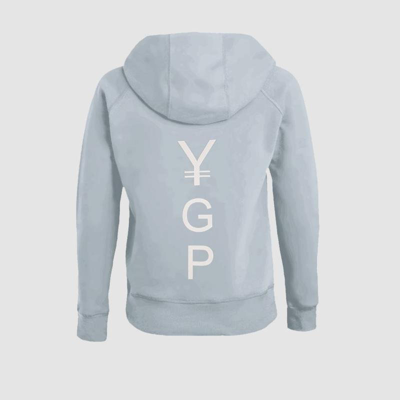 Coone - Y G & P Light Blue Women's Hoody