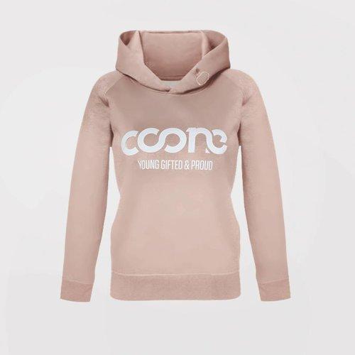 Coone - Y G & P Salmon Pink Women's Hoody