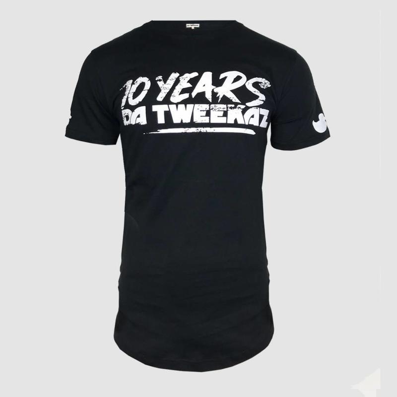 Da Tweekaz - 10 Years Black Long Tee
