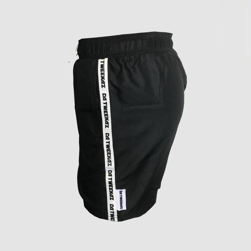 Da Tweekaz - Black Swim Shorts