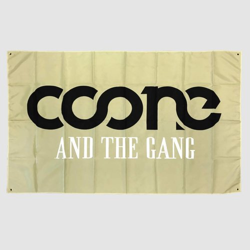 Coone And The Gang Flag | SOLD OUT