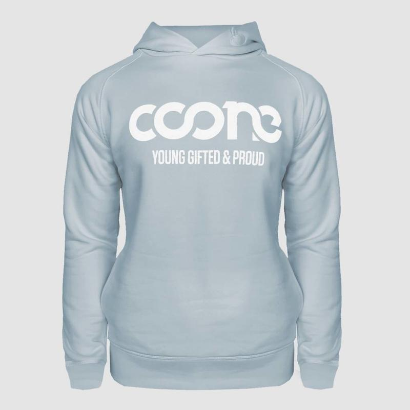 Coone - Young Gifted & Proud Blue Men's Hoody