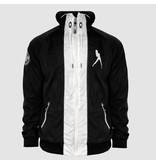 Dirty Workz - Black & White Windbreaker Jacket
