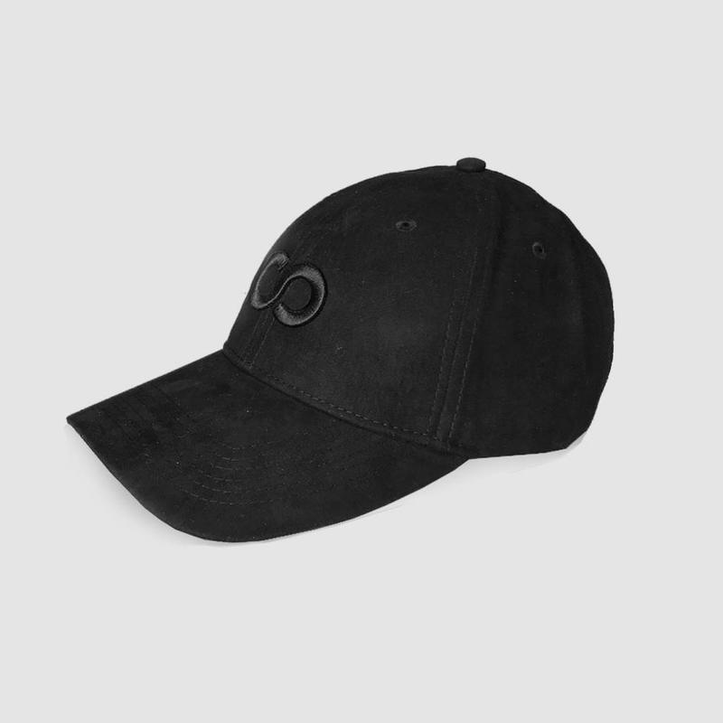 COONE - BLACK ICON SUEDE BASEBALL CAP