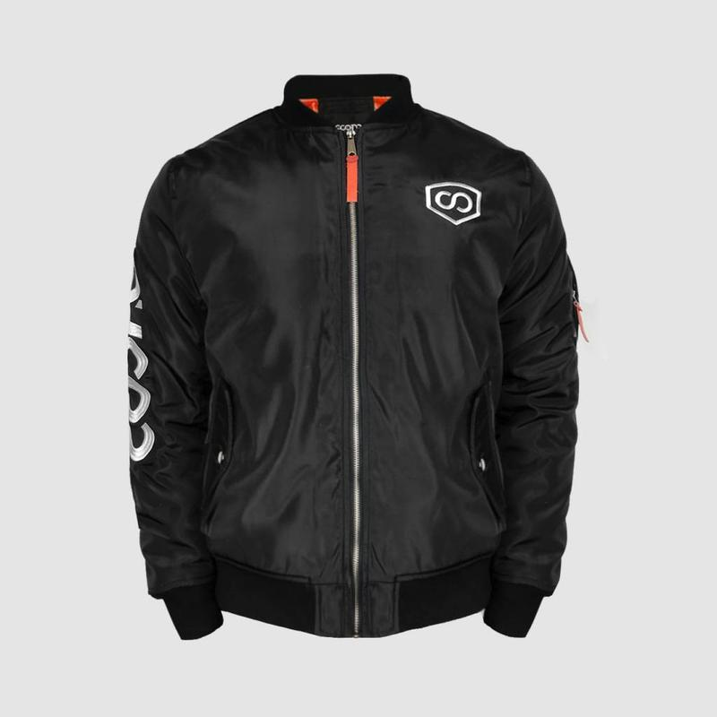 Coone - Black & White Global Dedication Bomber