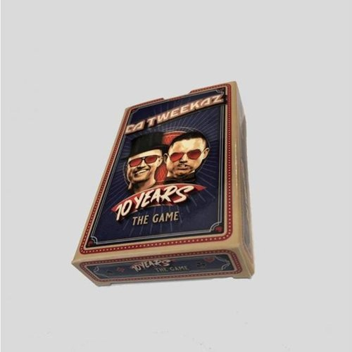 Da Tweekaz - 10 Years The Game (Card Deck)