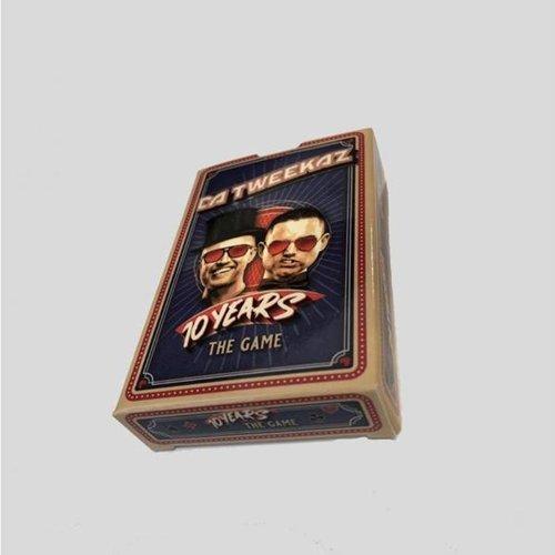 Da Tweekaz - 10 Years The Game (Card Deck)