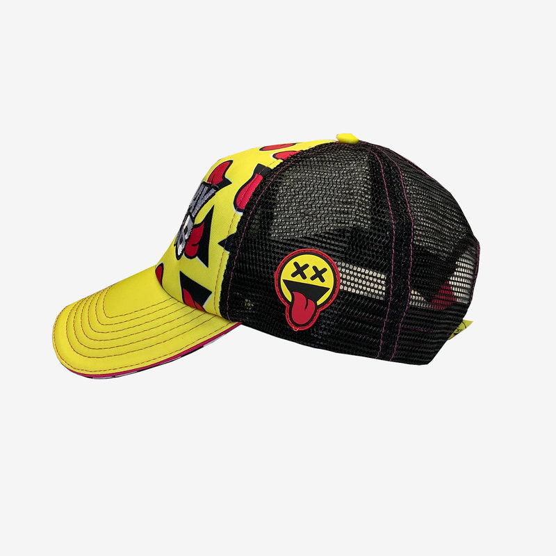 Pat B - Yellow Trucker Cap